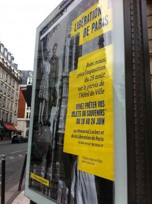 Campagne d'affichage pour l'appel à prêt de la Mairie de Paris