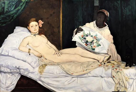 Olympia, Edouard Manet, 1863