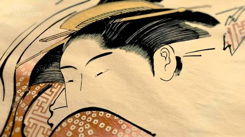 Shunga exhibition at the British Museum