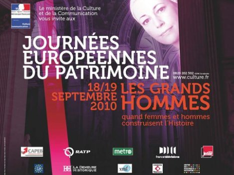 French Ministry of Culture – European Heritage Days 2010